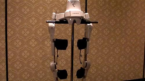 The Robotic Legs of the HAL Exoskeleton