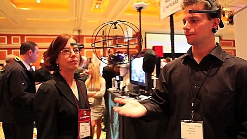 Flying a Helicopter with Brain Waves - CES 2013