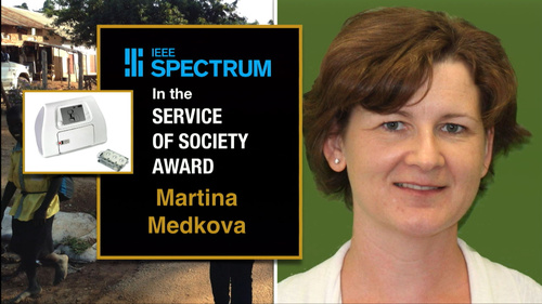 2015 IEEE Honors: IEEE Spectrum Technology in the Service of Society Award