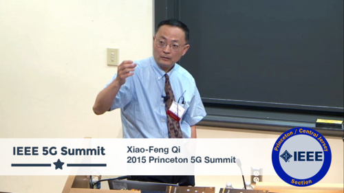 Princeton 5G Summit - Xiao-Feng Qi Keynote - We Want You - The Importance of Users and User-Centric Networks