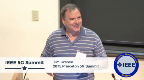 Princeton 5G Summit - Tim Grance Keynote - An Apocalypse is Coming - In The Form of IoT