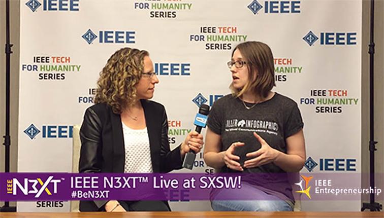 IEEE N3XT @ SXSW 2016: Amy Balliett, Killer Infographics