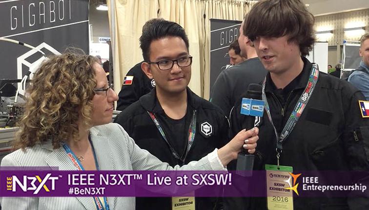 IEEE N3XT @ SXSW 2016: GigaBOT