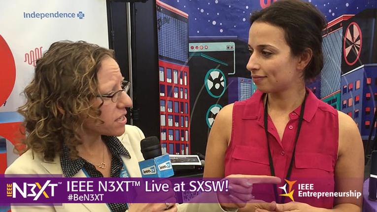 IEEE N3XT @ SXSW 2016: Yasmine Mustafa, ROAR For Good