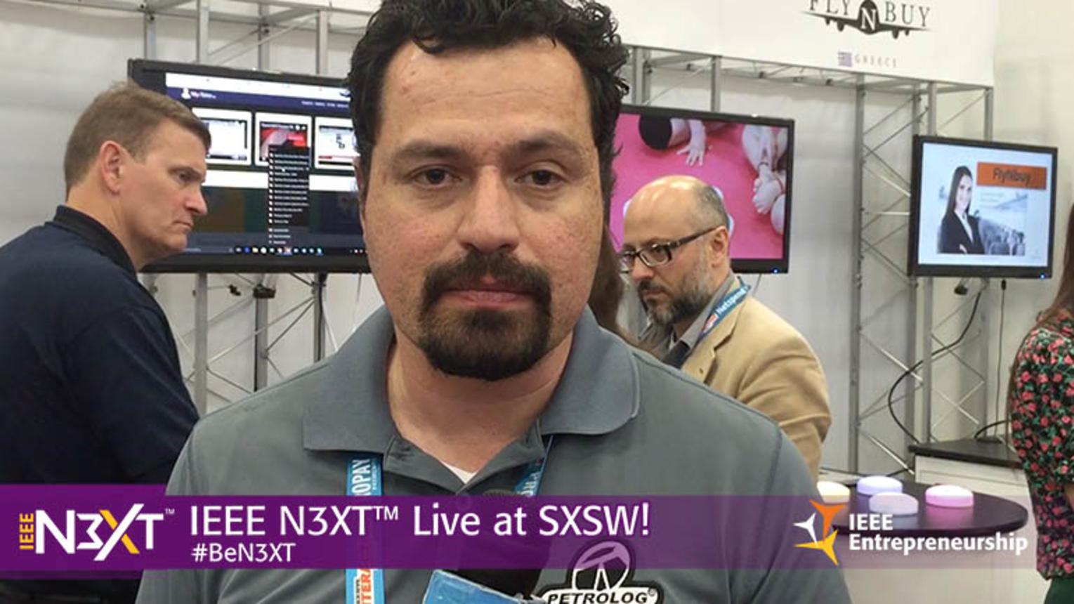 IEEE N3XT @ SXSW 2016: Cesar Chavez, Petrolog Automation