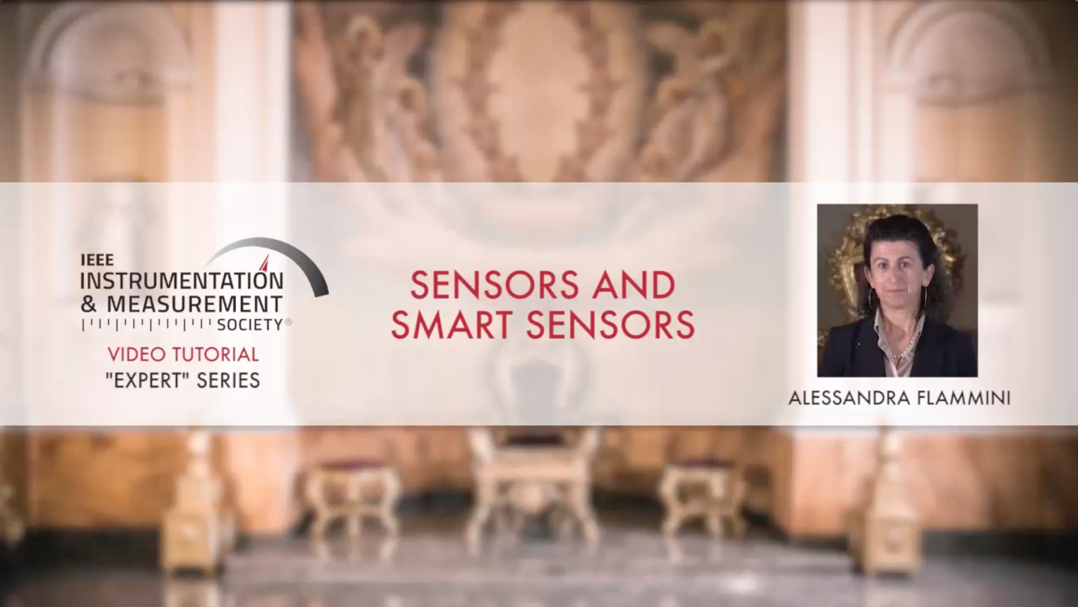 Sensors and Smart Sensors: Tutorial by Alessandra Fammini