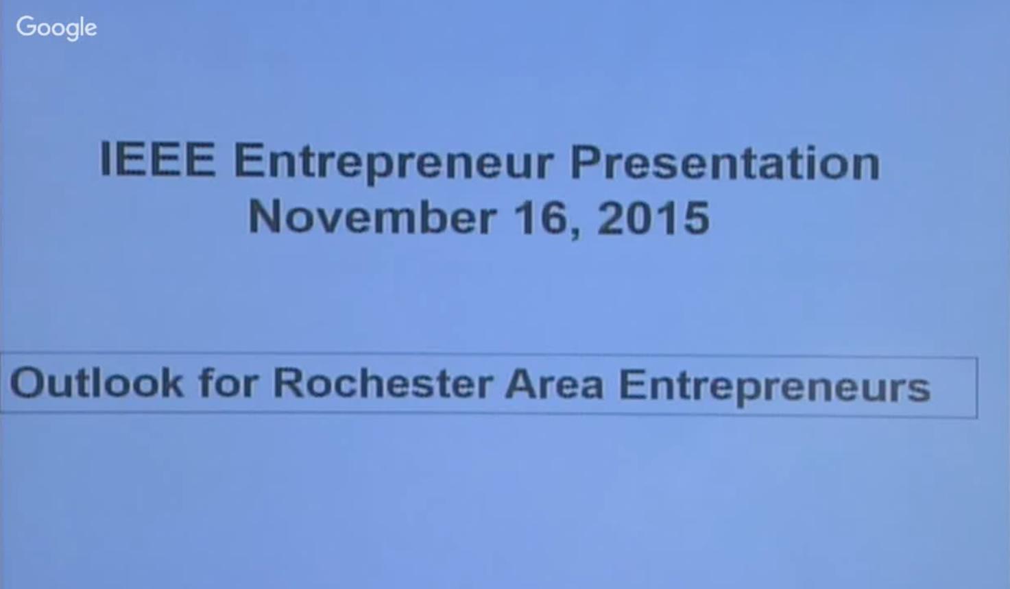 Entrepreneurship in High-Tech Businesses