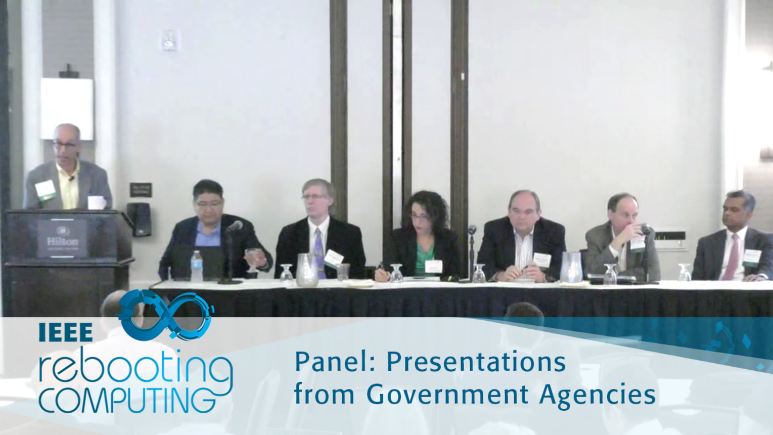 Q&A Government Agencies Panel: 2016 International Conference on Rebooting Computing