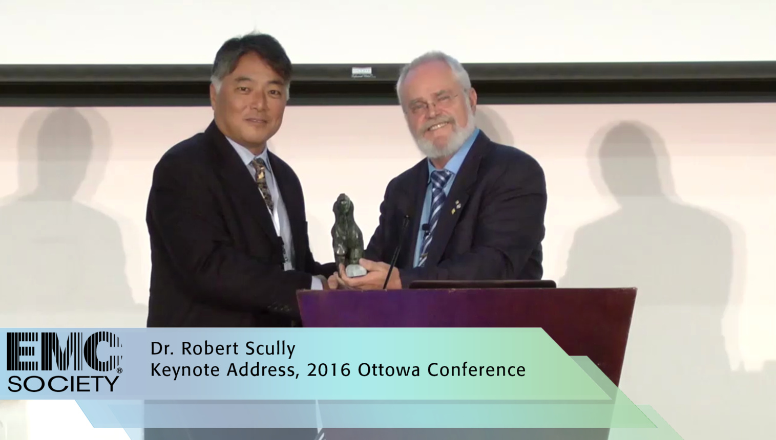 Keynote Address Dr. Robert Scully - EMC 2016