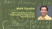 Mark Guzdial: 2012 IEEE Computer Society Undergraduate Teaching Award Winner