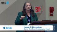 The Internet of Things, An Overview: Karen O'Donoghue Addresses Issues and Challenges of a More Connected World -- 2016 End to End Trust and Security Workshop for the Internet of Things