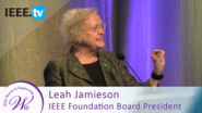 IEEE's Leah Jamieson focuses on Women Accelerating Change through Philanthropy - 2016 Women in Engineering Conference