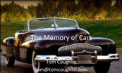 The Memory of Cars Talk by Tom Coughlin