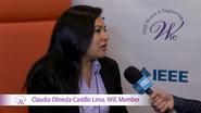 WIE Member Claudia Olmedo Castillo Lima at WIE ILC 2016