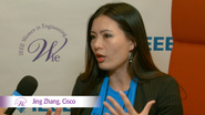Jing Zhang from Cisco at WIE ILC 2016