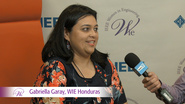 Gabriela Garay of WIE Honduras at WIE ILC 2016