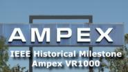 Ampex VTR Milestone